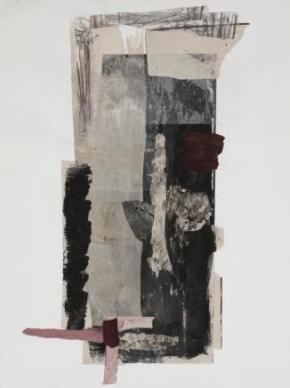 Techniques mixtes sur papier 68,5 cm x 49,5 cm