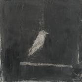 Le message/ techniques mixtes sur toile / 51 x 51 cm