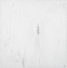 Ta chair à ma chair arrachée, techniques mixtes sur toile, 61 x 61 cm