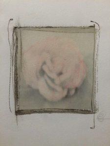 Es-tu érotique?, techniques mixtes sur papier coton, 43 x 33 cm