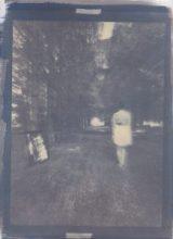 Phénomènes dits de matérialisation, cyanotype et gomme bichromatée sur papier coton